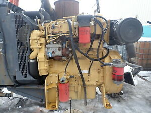 Caterpillar C4 4 Turbo Diesel Engine Power Unit Video 3054 Perkins Cat 4 4