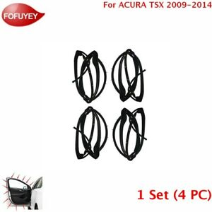 For Acura Tsx 2009 2014 Door Weatherstrip 1 Set 4 Pc Sllence Opening Gasket
