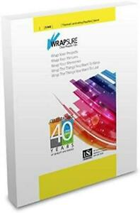 Usi Wrapsure Thermal Laminating Pouches Menu Size 5 Mil 12 X 18 Inches Clear