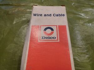Nos Delco 4e 30 Battery Cable 4 Gage Wire 30 Length