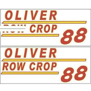 901h New Hood Decal Fits Minneapolis Moline Tractor Model 88