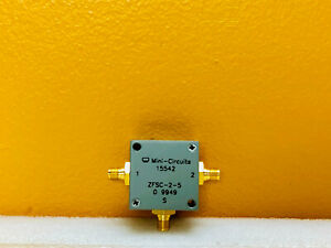 Mini circuits Zfsc 2 5 10 To 1500 Mhz Sma f Power Splitter Combiner Tested