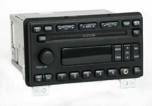 2005 Ford Explorer Am Fm Radio 6 Disc Cd Player W Auxiliary Input 4l2t 18c815 Ce