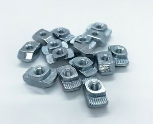 M 4 Thread T Nut 3842501751 For 8 Mm Extrusion Slot 80 20 13113 Lot Of 50