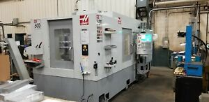 4 Axis Horizontal Production Machine Time On Our Haas Ec 500 Cnc Machine