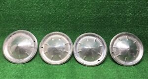 1960 Ford 14 Wheelcovers Set Hubcaps 4 Vintage Original Starliner Galaxie 60s
