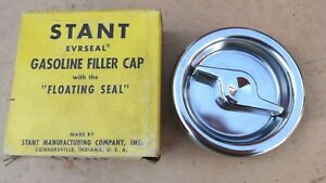 Nos 1960 Ford Falcon Mercury Comet Gas Cap Original Stant G 24 Chrome Handle