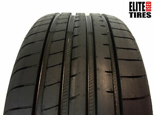 1 Goodyear Eagle F1 Asymmetric 3 P245 40r18 245 40 18 Tire Driven Once