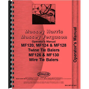 Baler Operators Manual For Massey Ferguson 12