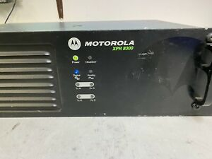 Motorola Xpr8300 Mototrbo Uhf Repeater Aam27trr9ja7an Bench Tested 450 512 Mhz