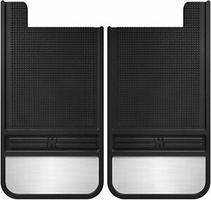 Husky Liners Rubber Rear Mud Flaps 12in W Weight