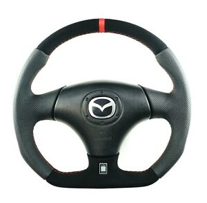 Flat Bottom Mazda Mazdaspeed Mx5 Miata Custom D Shaped Steering Wheel