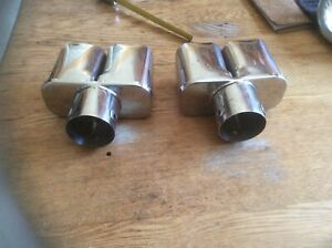 Vintage Exhaust Tips Rat Rod Nos