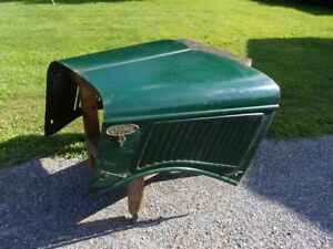 1936 Ford Truck Hood Antique Flathead Pickup Bonnet