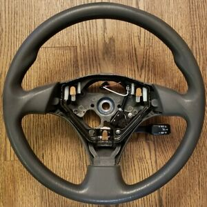 Oem Toyota Corolla Matrix Steering Wheel Gray W Cruise Control Switch