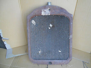 1920 S Grill Shell Rat Rod Hot Fedders Radiator Packard Chrysler Patina Look Wow