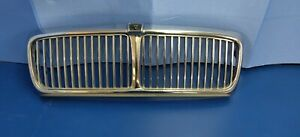 1993 88 1994 Jaguar Xj6 Front Chrome Grill Grille Assembly Badge Oem Used 93 92