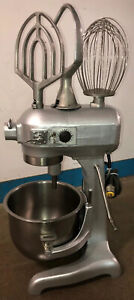 Genuine Hobart As200t 20qt Mixer W ss Bowl whisk paddle hook Timer 115v 1 3hp
