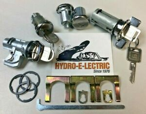 New 1974 1978 Pontiac Firebird Trans Am Complete Oe Style Lock Set Gm Keys
