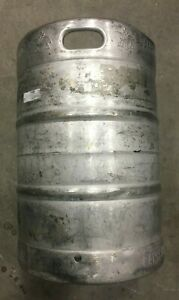 1 2 Barrel Used Beer Keg Stainless Steel 15 5 Gallons Sankey D Style