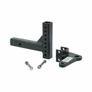 Adjustable Trailer Tow Hitch Ball Mount W Sway Control Tab 6 000 Lbs