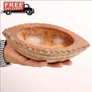 Vintage Sand Stone Made Hand Carved Pounder Spices Grinder Mortar Bowl Mortal