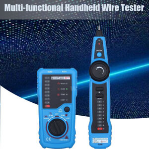 Instruments Tracer Toner Cat6 Detector Line Finder Wire Tracker Cable Tester