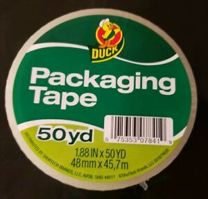 1 88 X 50 Yd Duck Clear Packing Tape 1 Ct