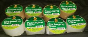 1 88 X 50 Yd Duck Mixed Four Tan Four Clear Packing Tape 8 Ct