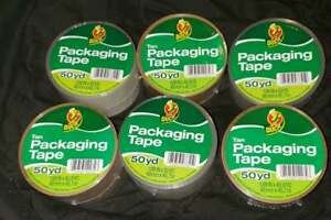 1 88 X 50 Yd Duck Mixed Three Tan Three Clear Packing Tape 6 Ct