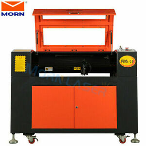 Reci 80w Co2 Laser Cutting Engrave Machine Rotary Axis Electric Up And Down Us