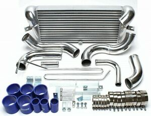 Fmic V Mount Intercooler Kit For 92 02 Rx7 Rx 7 Fd Fd3s Jdm 1 3l 13b Twin Turbo