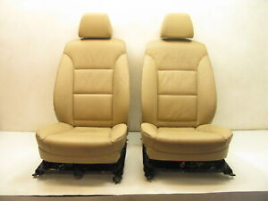 Oem Bmw E60 525 528 530 550 Sport Interior Comfort Seat Tan Front Seats Pair Aaa