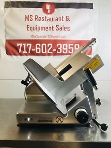 Bizerba Gsph Manual Meat Cheese Deli Slicer hobart 2812 Tested