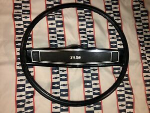 1969 69 Oem Camaro Nova Chevelle Rs Ss Z 28 Standard Steering Wheel Original Gm