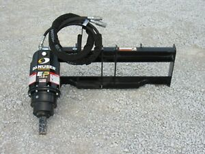 Danuser Ep1020 Hex Auger Drive Unit Fits Skid Steer Tractor Quick Attach Loader