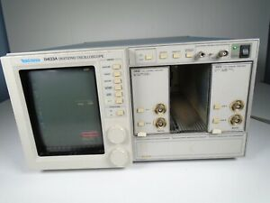 Tektronix 11403a Color Digitizing Oscilloscope 11a32 11a72 Amplifier Modules