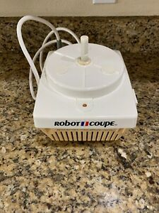 Vintage Robot Coupe Rc2000 Food Processor Base