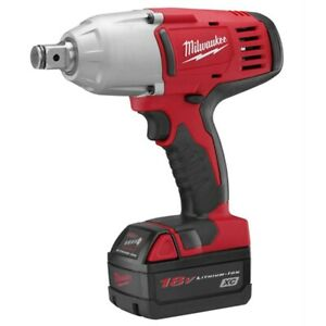 Milwaukee 2664 22 M18 3 4 High Torque Impact Wrench Kit With Friction Ring
