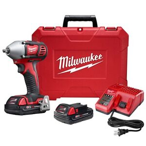 Milwaukee 2658 22ct M18 3 8 Cordless Impact Wrench Kit With Friction Ring