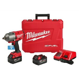 Milwaukee 2863 2 M18 Fuel 1 2 High Torque Impact Wrench Kit With One Key