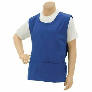 Premium Uniforms Royal Blue Poly Cotton Cobbler Apron 28 l X 20 w