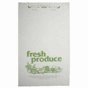 Imprinted Plastic Fresh Produce Roll Bags 12 l X 20 h