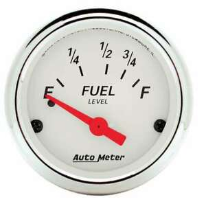Auto Meter 2 1 16 A W Fuel Level Gauge Ford