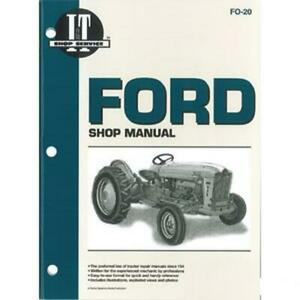 Shop Manual Fits Ford 1801 2000 4000 501 600 601 700 701 800 801 900 901 Tractor
