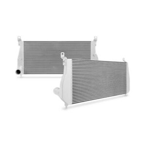 Mishimoto Intercooler Kit Fits Chevrolet 6 6l Duramax 2002 2004 5 Silver