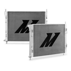 Mishimoto Performance Aluminum Radiator Fits Ford Mustang Gt Shelby 2015 Silver