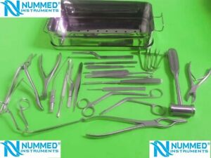 Basic Smr Septoplasty Set 23 Pcs rhinoplasty Plastic Surgery Instruments German