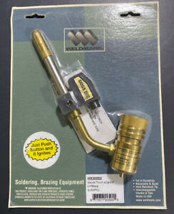Weldmark Propane High output Soldering Brazing Torch For Disposable Cylinder