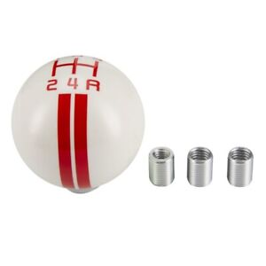 Refit Resin Car Manual White Gear Stick Shift Knob For Ford Mustang Shelby Gt500